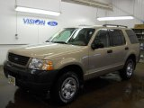 2003 Harvest Gold Metallic Ford Explorer XLS 4x4 #58783140