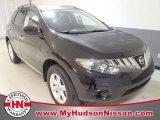 2009 Super Black Nissan Murano S #58782281