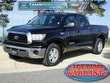 2008 Black Toyota Tundra SR5 Double Cab #58783090
