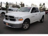 2011 Bright White Dodge Ram 1500 SLT Quad Cab 4x4 #58783080