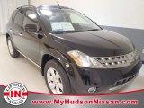 2006 Super Black Nissan Murano SL #58782268