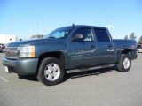 2010 Blue Granite Metallic Chevrolet Silverado 1500 LT Crew Cab #58783068