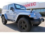 2012 Winter Chill Pearl Jeep Wrangler Sahara Arctic Edition 4x4 #58782708