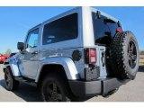 2012 Jeep Wrangler Sahara Arctic Edition 4x4 Sahara Arctic Edition, Rear 3/4 View