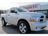 2012 Bright Silver Metallic Dodge Ram 1500 Express Regular Cab #58782699