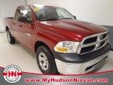 2010 Inferno Red Crystal Pearl Dodge Ram 1500 ST Quad Cab 4x4 #58782233