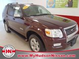 2006 Dark Cherry Metallic Ford Explorer Limited 4x4 #58782231