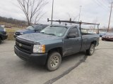 2008 Blue Granite Metallic Chevrolet Silverado 1500 Work Truck Regular Cab #58782639