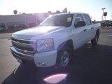 2011 Summit White Chevrolet Silverado 1500 LT Crew Cab 4x4 #58724854