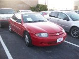 2003 Victory Red Chevrolet Cavalier Coupe #58782590