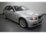 2011 Titanium Silver Metallic BMW 3 Series 328i Sedan #58782946
