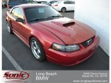 2001 Laser Red Metallic Ford Mustang GT Coupe #58724803
