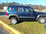 2002 Patriot Blue Pearlcoat Jeep Liberty Sport #58852963