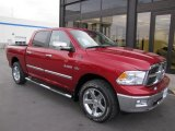 2009 Inferno Red Crystal Pearl Dodge Ram 1500 Big Horn Edition Crew Cab 4x4 #58852949