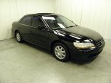 2002 Nighthawk Black Pearl Honda Accord SE Sedan #58852947