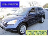 2009 Royal Blue Pearl Honda CR-V EX-L 4WD #58852622