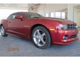 2010 Chevrolet Camaro LT Coupe Front 3/4 View