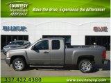 2007 Graystone Metallic Chevrolet Silverado 1500 LT Extended Cab #58853223