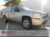 2008 Silver Birch Metallic Chevrolet Silverado 1500 LT Extended Cab #58853202