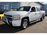 2009 Summit White Chevrolet Silverado 1500 LT Z71 Crew Cab 4x4 #58852559