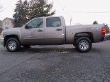 2012 Mocha Steel Metallic Chevrolet Silverado 1500 LS Crew Cab 4x4 #58852554
