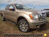 2011 Pale Adobe Metallic Ford F150 Lariat SuperCrew #58852543