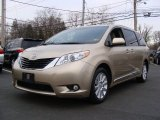2011 Sandy Beach Metallic Toyota Sienna XLE AWD #58853149