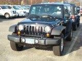 2012 Black Jeep Wrangler Sport S 4x4 #58852488