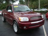 2005 Salsa Red Pearl Toyota Tundra SR5 Double Cab 4x4 #58852453
