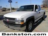 2001 Summit White Chevrolet Silverado 1500 LS Extended Cab 4x4 #58852395