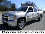 2011 Sheer Silver Metallic Chevrolet Silverado 1500 LT Crew Cab #58852393