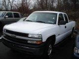 Summit White Chevrolet Silverado 1500 in 2002