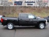 2012 Black Chevrolet Silverado 1500 LT Crew Cab 4x4 #58852701