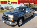 2006 Blue Granite Metallic Chevrolet Silverado 1500 LS Crew Cab #58853041