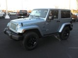 2012 Winter Chill Pearl Jeep Wrangler Sahara Arctic Edition 4x4 #58853022