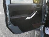2012 Jeep Wrangler Sahara Arctic Edition 4x4 Door Panel