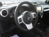 2012 Jeep Wrangler Sahara Arctic Edition 4x4 Steering Wheel