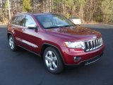 2012 Jeep Grand Cherokee Deep Cherry Red Crystal Pearl