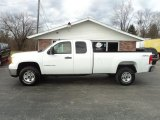 2007 Summit White GMC Sierra 2500HD SLE Extended Cab 4x4 #58853011