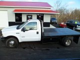 2006 Ford F350 Super Duty XL Regular Cab Flat Bed Data, Info and Specs