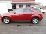2010 Cardinal Red Metallic Chevrolet Equinox LTZ AWD #58915759
