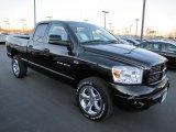 2007 Black Dodge Ram 1500 Sport Quad Cab 4x4 #58915469