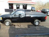 2008 Black Chevrolet Silverado 1500 LS Regular Cab #58915757