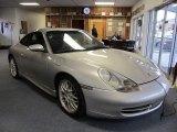 1999 Arctic Silver Metallic Porsche 911 Carrera Coupe #58915743