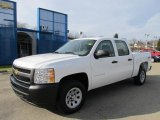 2012 Summit White Chevrolet Silverado 1500 Work Truck Crew Cab 4x4 #58915122