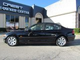 2001 Jet Black BMW 3 Series 325i Sedan #58915436
