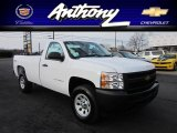 2012 Summit White Chevrolet Silverado 1500 Work Truck Regular Cab 4x4 #58915724