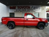 2005 Victory Red Chevrolet Silverado 1500 Regular Cab 4x4 #58915102