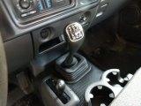 2005 Chevrolet Silverado 1500 Regular Cab 4x4 5 Speed Manual Transmission