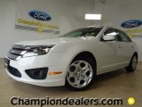 2010 White Suede Ford Fusion SE V6 #58915096